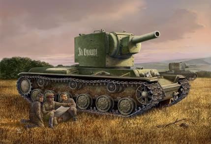 Hobby Boss 1/48 Russian KV-2 tank