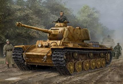 Hobby Boss 1/48 German Pz.Kpfw KV-1 756(r) tank