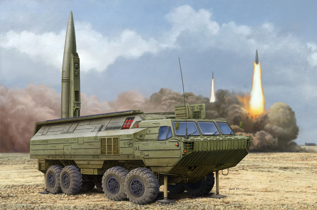 Hobby Boss Soviet SS-23 Spider Tactical Ballistic Missile