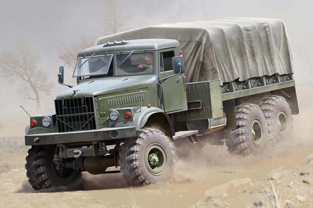 Hobby Boss 1/35 Russian KrAZ-255B