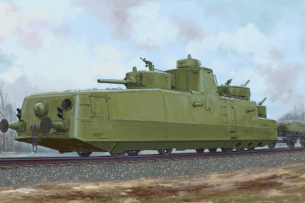 Hobby Boss Soviet MBV-2 Armored Train