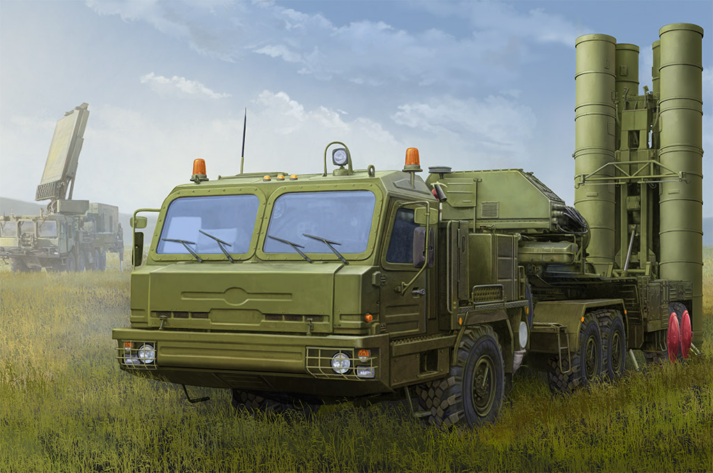 Hobby Boss Russian BAZ-64022 with 5P85TE2 TEL S-400