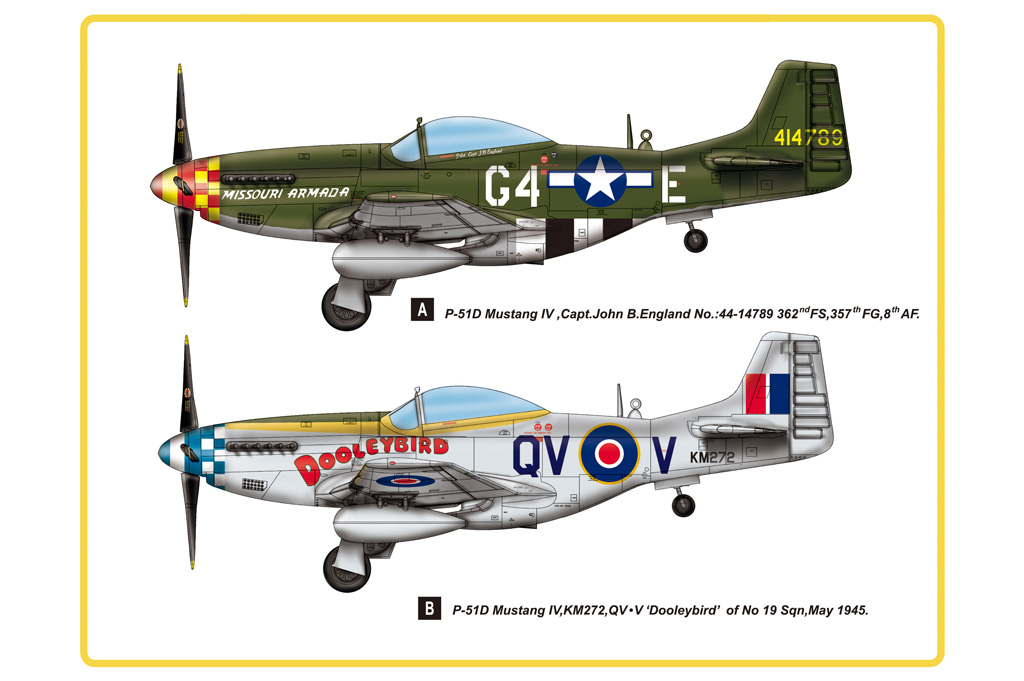 Hobby Boss 1/48 P-51D Mustang IV Fighter