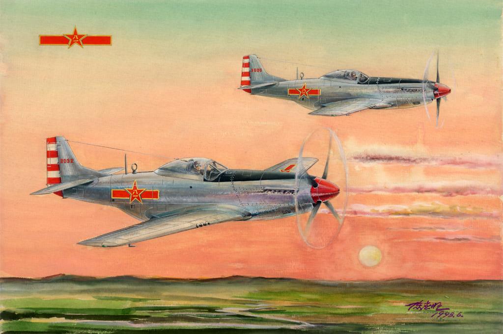 Hobby Boss 1/48 PLAAF P-51D/K Mustang Fighter