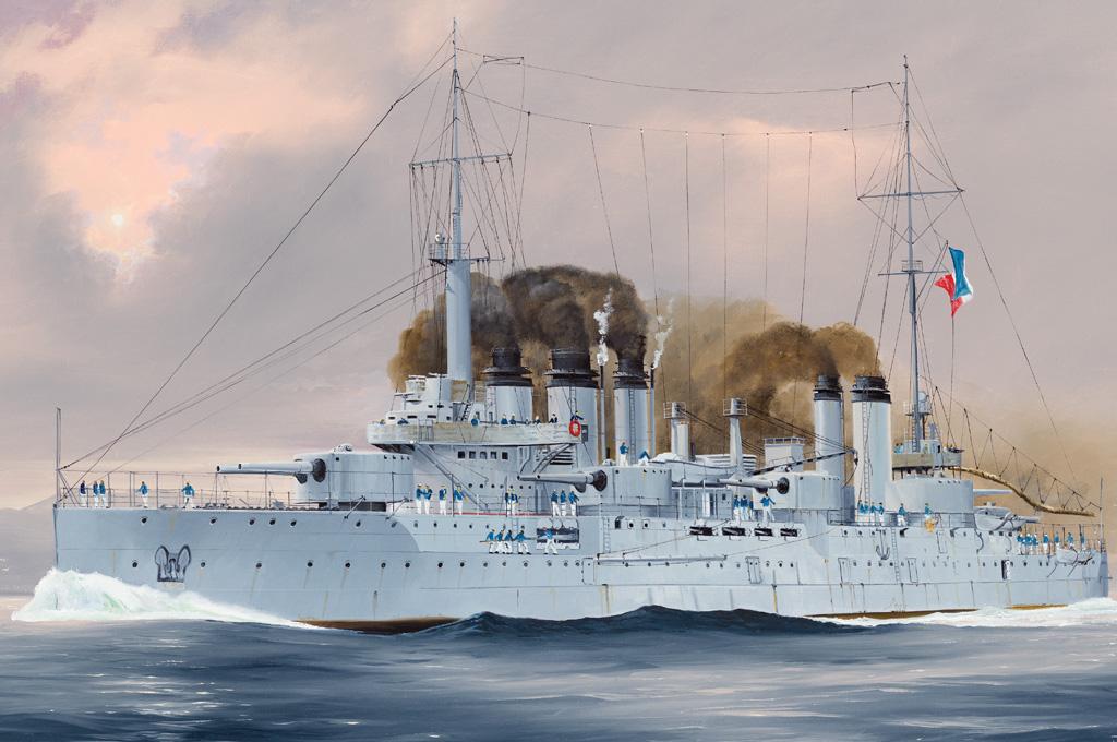 Hobby Boss 1/350 French Navy Pre-Dreadnought Battleship Danton