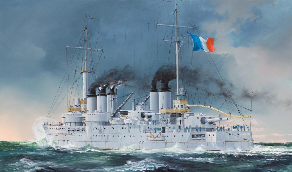 Hobby Boss 1/350 French Navy Pre-Dreadnought Battleship Condorcet