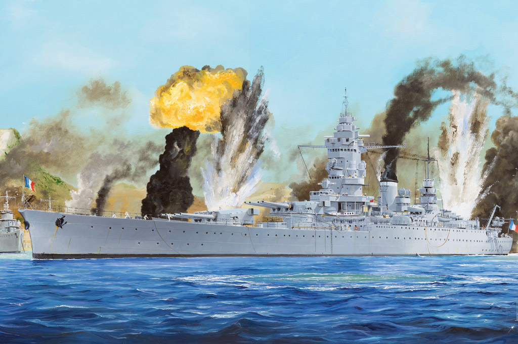 Hobby Boss 1/350 French Navy Dunkerque Battleship
