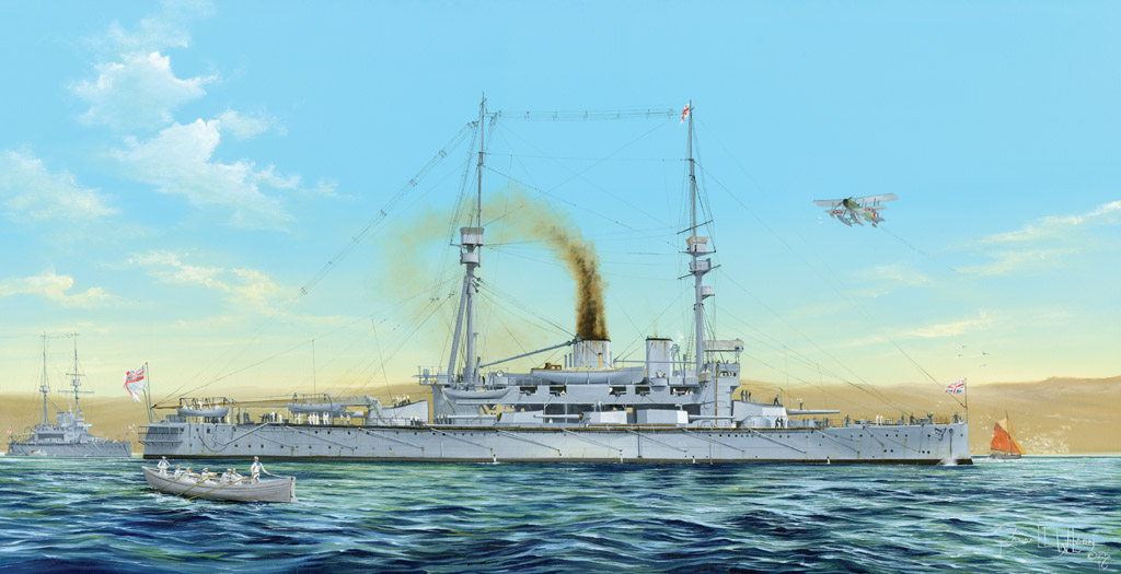 Hobby Boss 1/350 HMS Agamenon