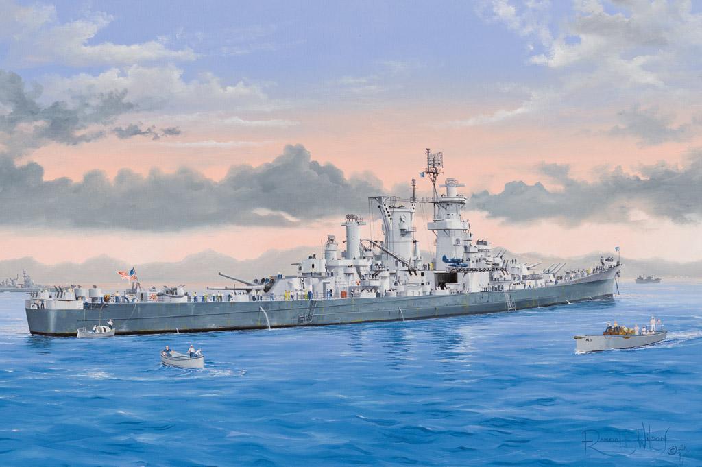Hobby Boss USS Guam CB-2
