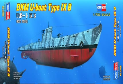 Hobby Boss DKM U-boat Type IX B