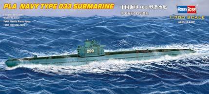 Hobby Boss 1/700 PLA Navy Type 033 Submarine