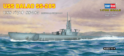 Hobby Boss 1/700 USS BALAO SS-285