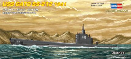 Hobby Boss USS GATO SS-212 1941