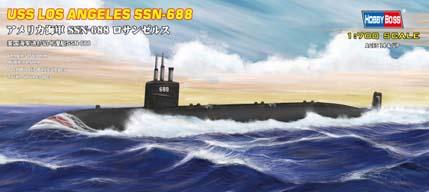 Hobby Boss 1/700 USS Los Angeles Submarine SSN-688