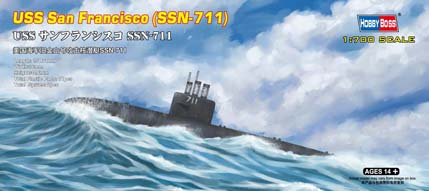 Hobby Boss 1/700 USS San Francisco (SSN-711)