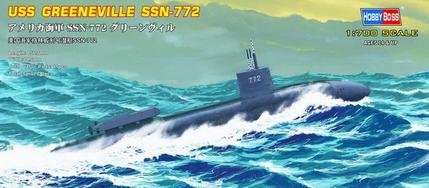 Hobby Boss 1/700 USS Greeneville Submarine SSN-772