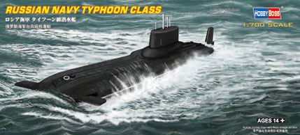Hobby Boss Russian Navy Typhoon Class Submarine