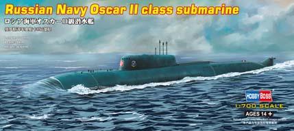 Hobby Boss 1/700 Russian Navy Oscar II class submarine