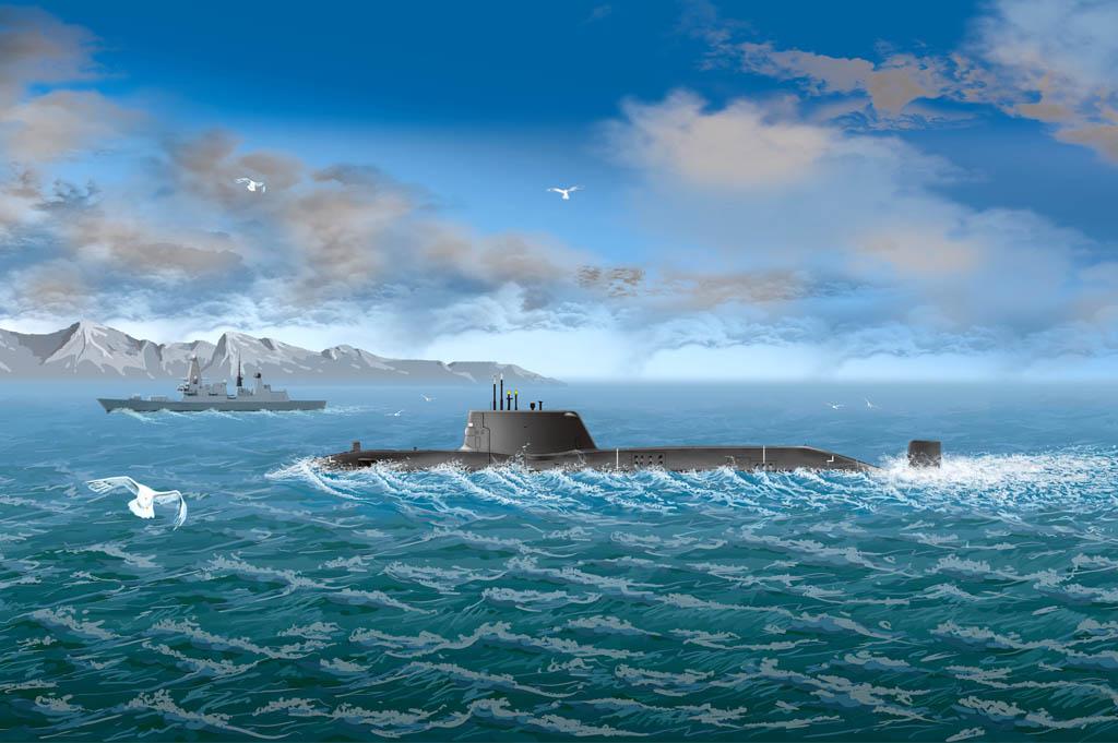 Hobby Boss 1/700 HMS Astute