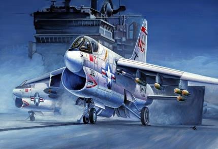 Hobby Boss 1/72 A-7A Corsair II