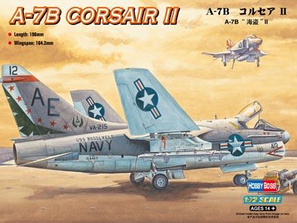 Hobby Boss 1/72 A-7B Corsair II