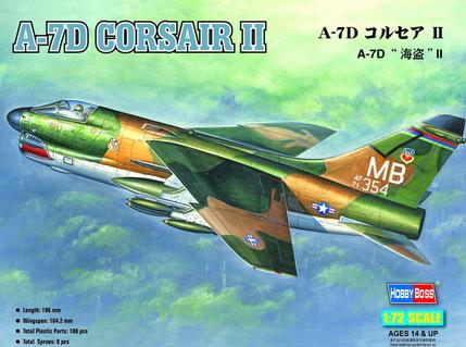 Hobby Boss 1/72 A-7D Corsair II
