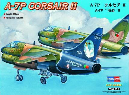 Hobby Boss 1/72 A-7P Corsair II
