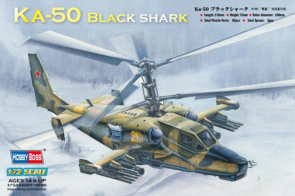 Hobby Boss 1/72 Ka-50  Black Shark Attack Helicopter