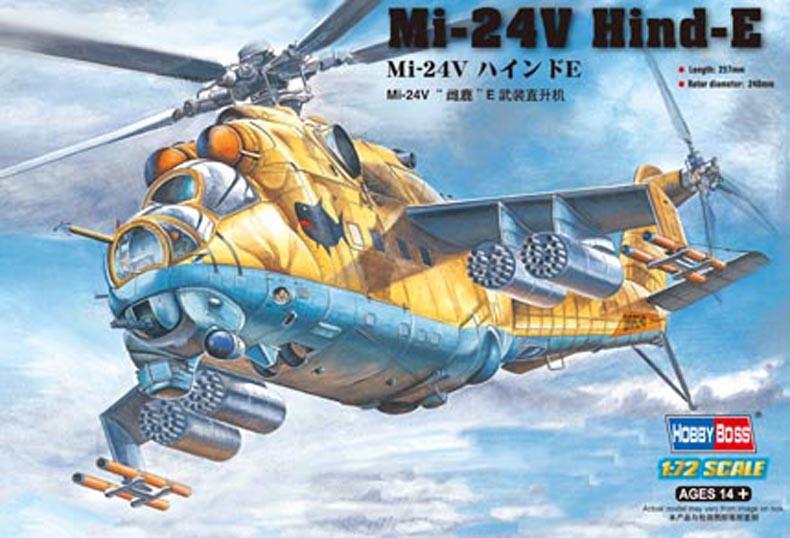 Hobby Boss 1/72 Mi-24V Hind-E
