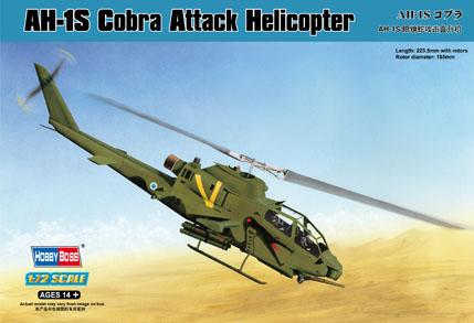 Hobby Boss 1/72 AH-1S Cobra Attack Helicopter