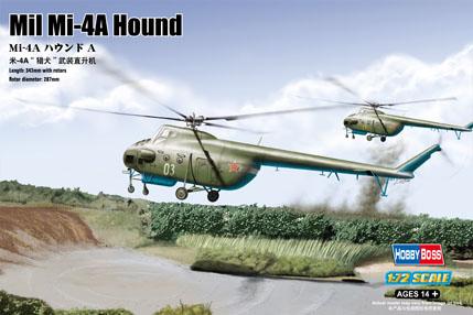 Hobby Boss 1/72 Mil Mi-4A Hound A