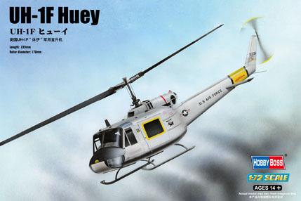 Hobby Boss 1/72 UH-1F Huey