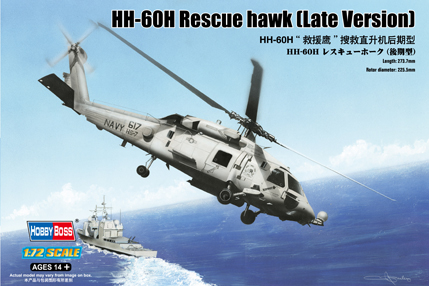 Hobby Boss 1/72 HH-60H Rescue Hawk (Late Version)