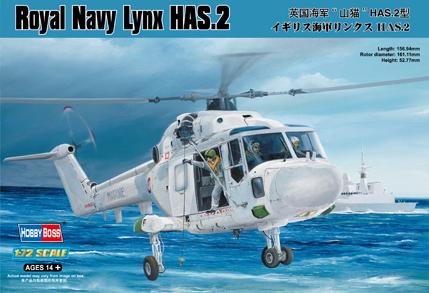 Hobby Boss 1/72 Royal Navy Lynx HAS.2