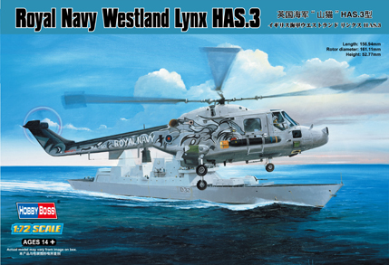 Hobby Boss Royal Navy Westland Lynx HAS.3