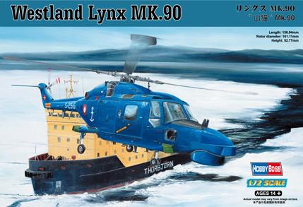 Hobby Boss 1/72 Westland Lynx MK.90