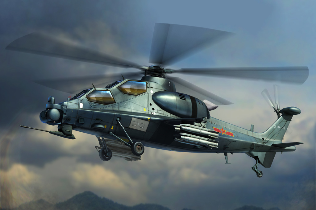 Hobby Boss 1/72 Chinese Z-10 Attack Helicopter