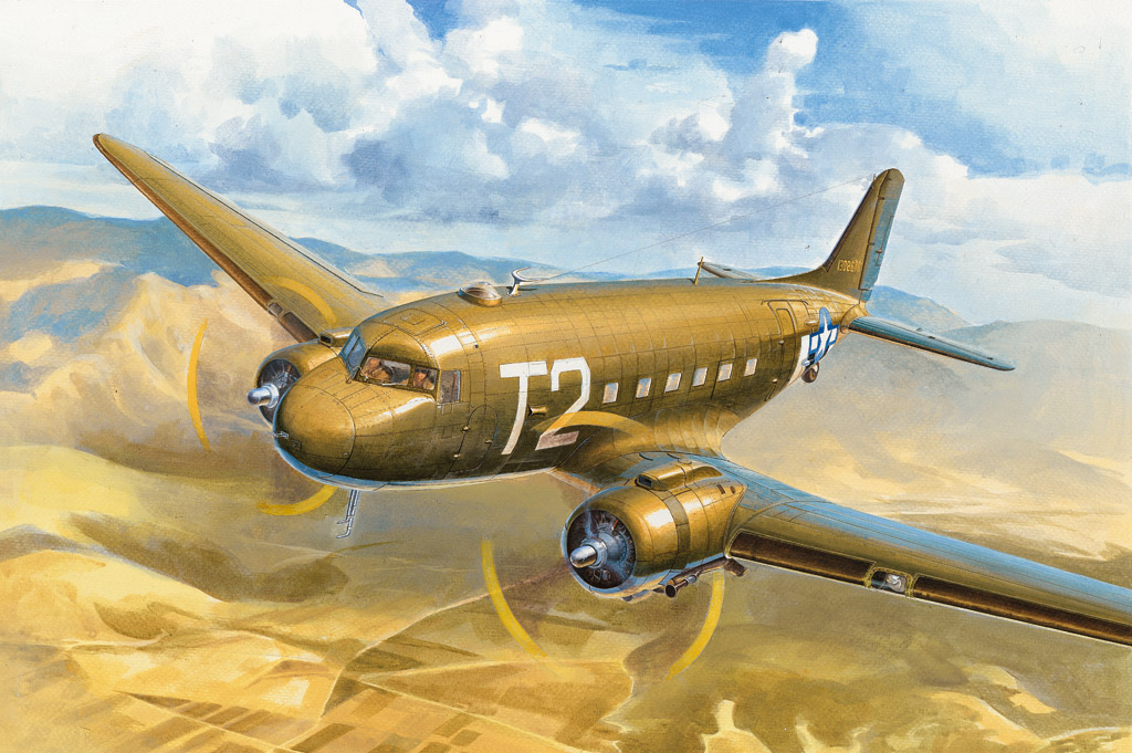Hobby Boss 1/72 C-47A Skytrain