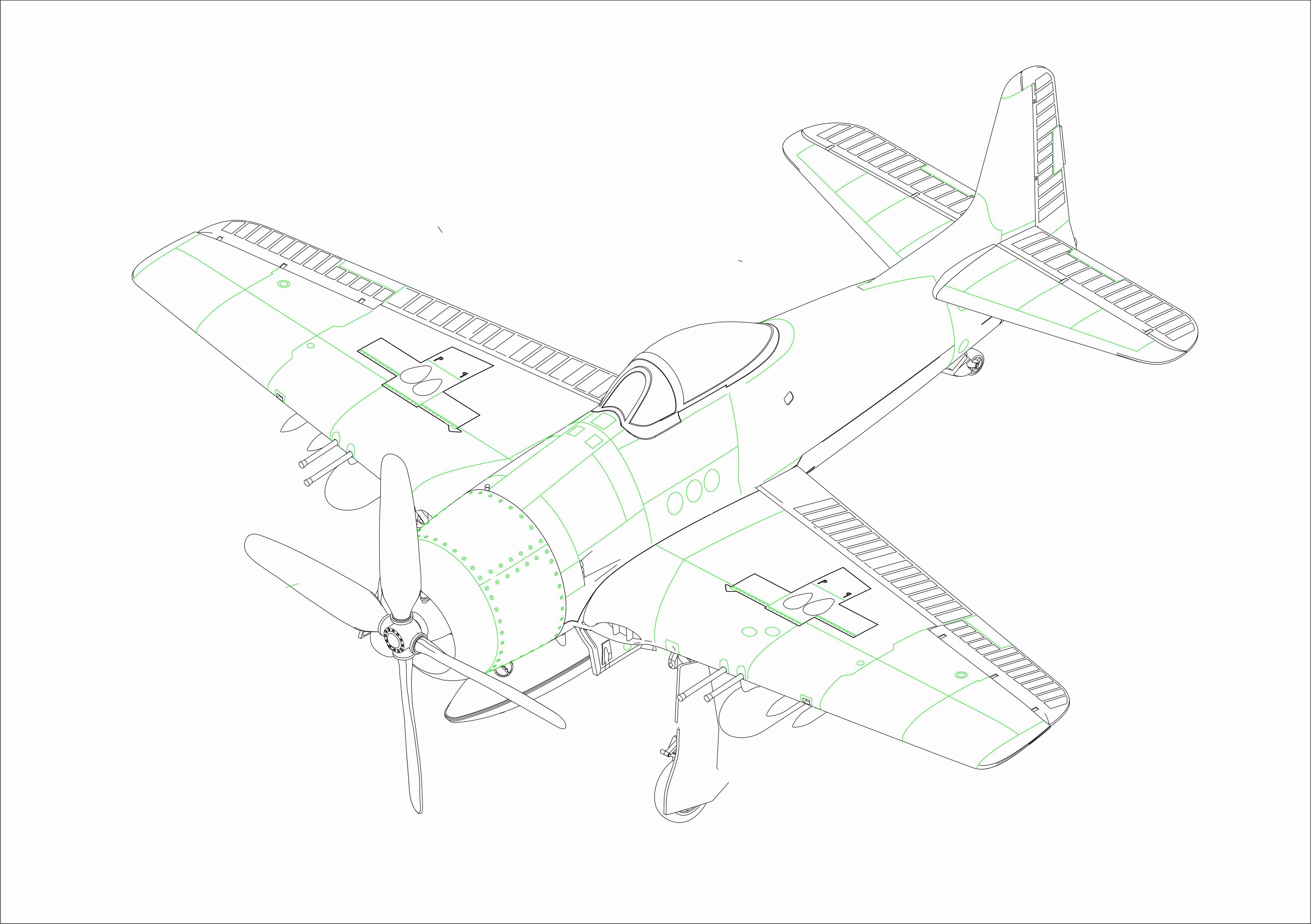 Hobby Boss 1/72 F8F-1B Bearcat