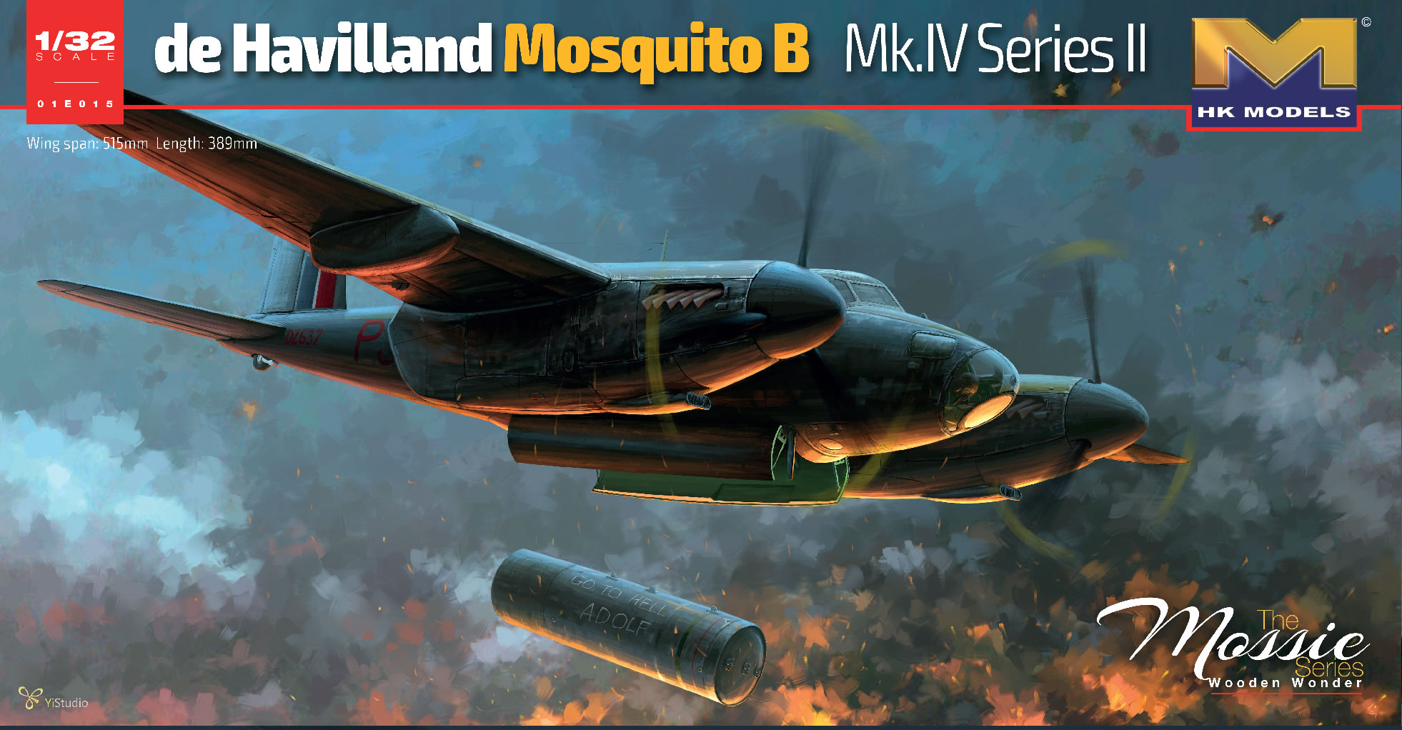 HK Models 1/32 DE Havilland Mosquito MK.IV, Aircraft