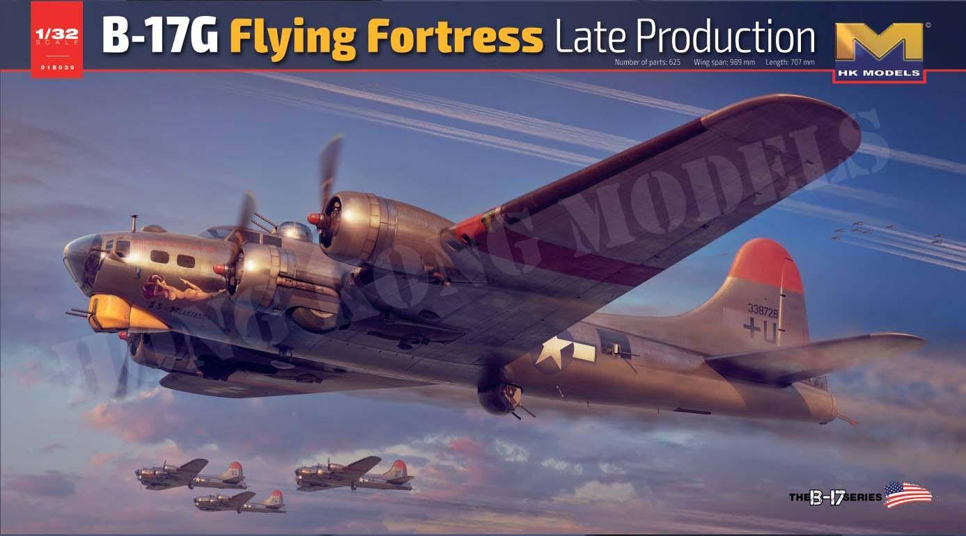 HK Models 1/32 B-17G Flying Fortress Late Version, Aircraft