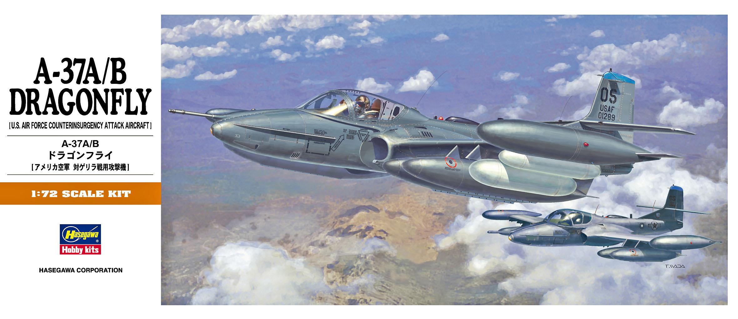 Hasegawa 1/72 A-37A/B Dragonfly