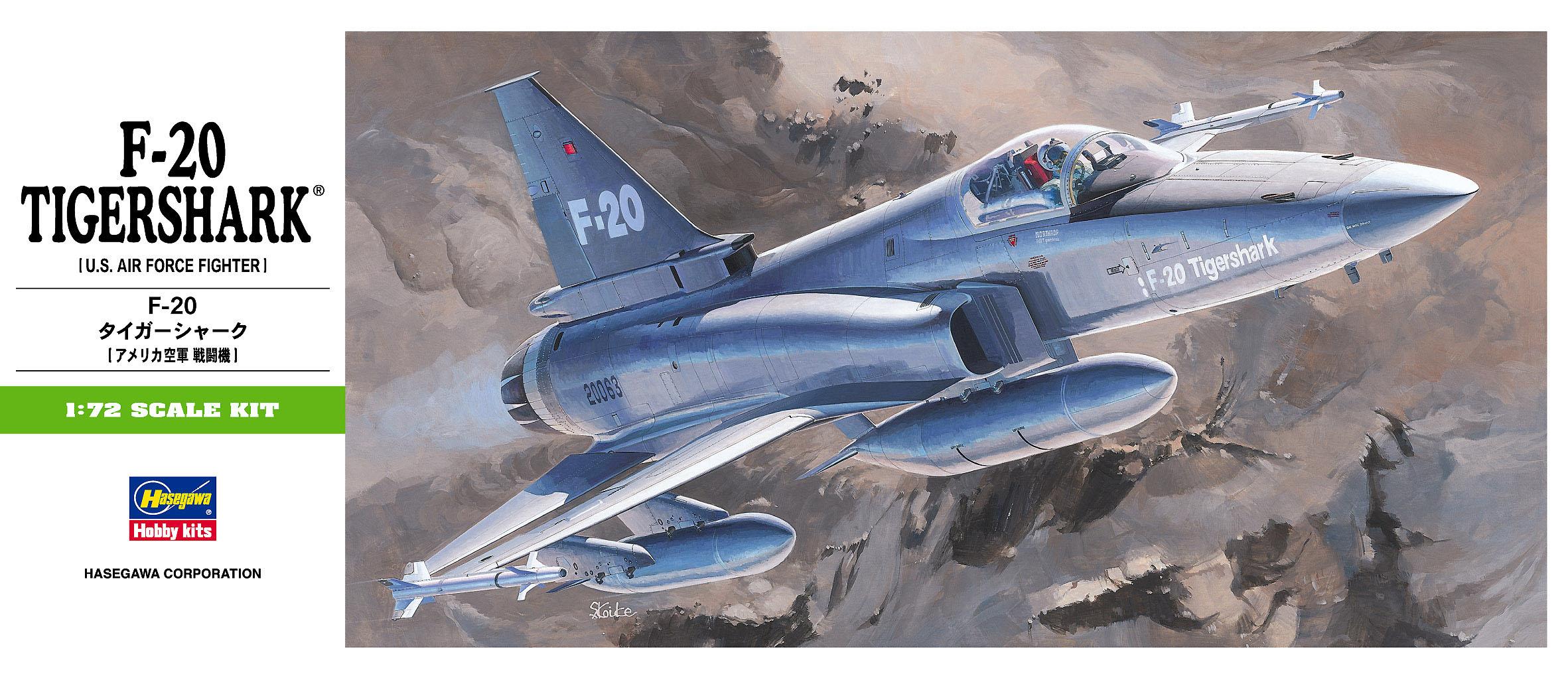 Hasegawa 1/72 F-20 Tigershark