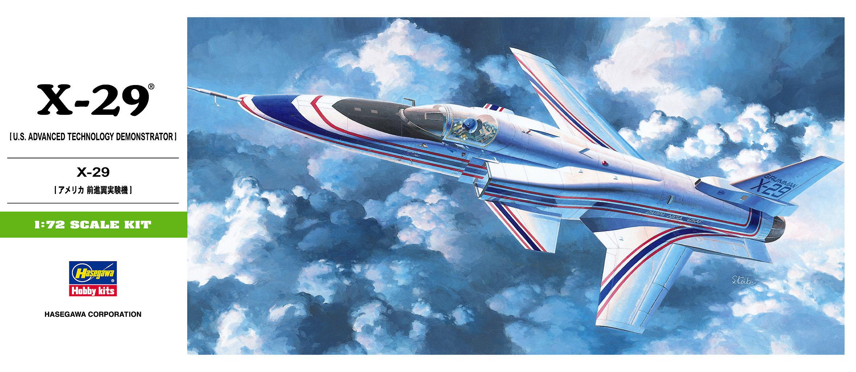 Hasegawa 1/72 X-29