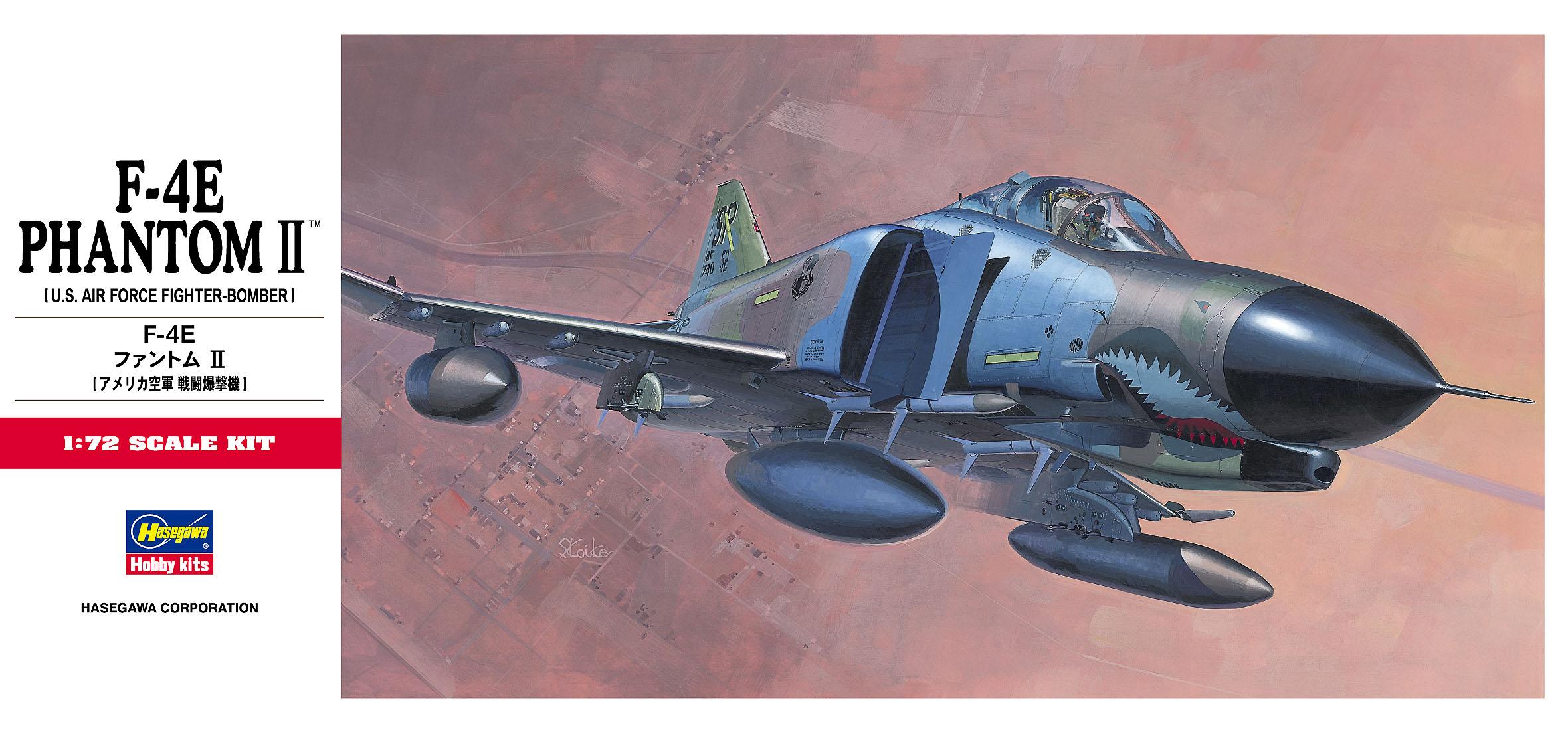 Hasegawa 1/72 F-4E Phantom II C2