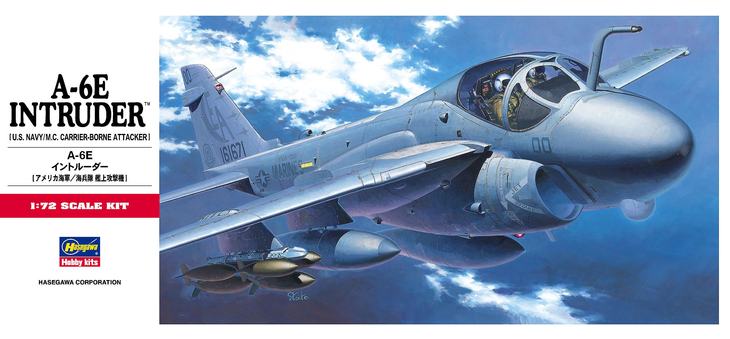 Hasegawa 1/72 A-6E Intruder C8