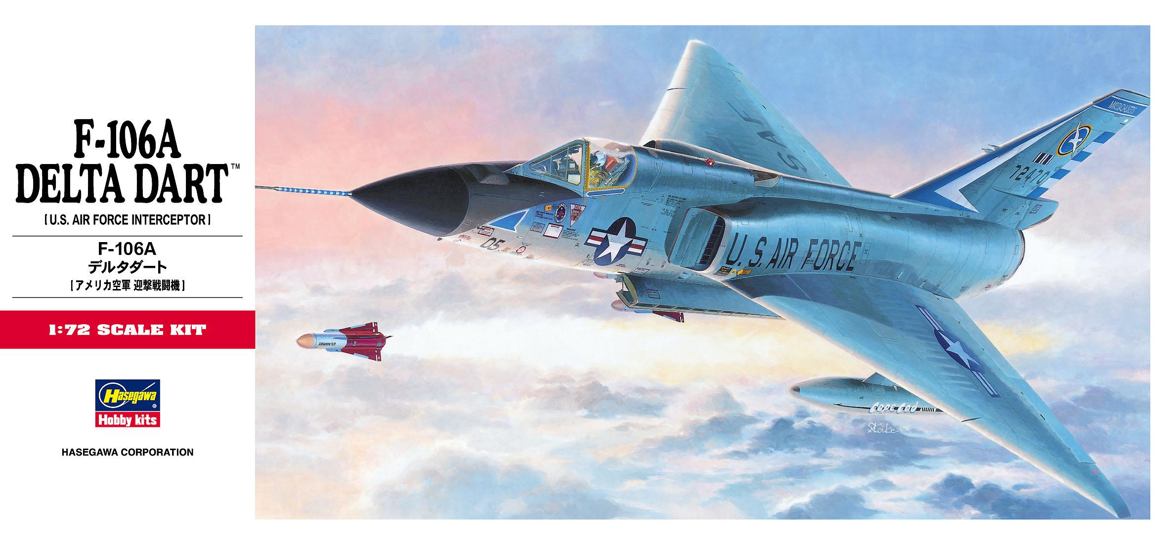Hasegawa F-106A Delta Dart C11