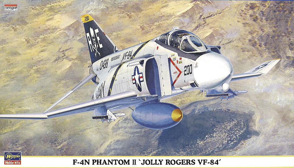 "Hasegawa 1/72 F-4N Phantom II ""Jolly Rogers VF-84"""