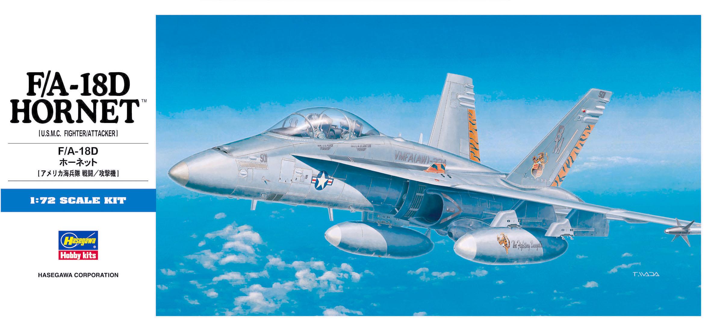 Hasegawa 1/72 F/A-18D Hornet D9