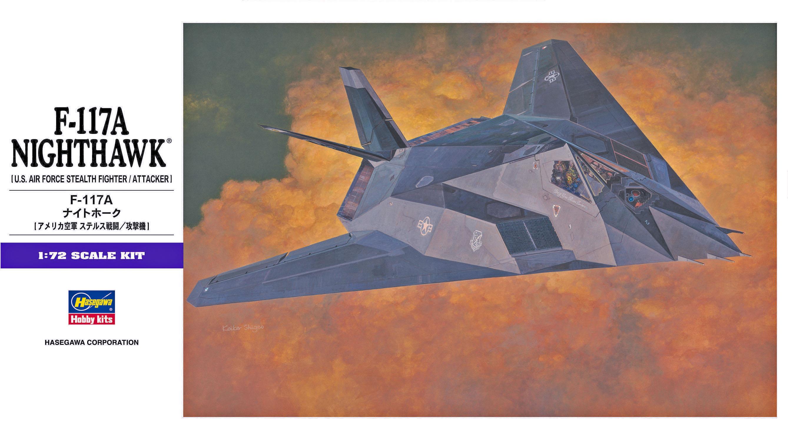Hasegawa F-117A Nighthawk